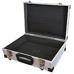 Maleta De Aluminio L X 380 B X 260 H 120mm Maletín Transporte Maleta De Aluminio Lagerbox Cojinete
