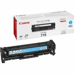 Canon Original 2661B002 / 718C, für i-SENSYS MF 8580 cdw Premium Drucker-Kartusche, Cyan, 2900 Seiten - Blau Canon Toner