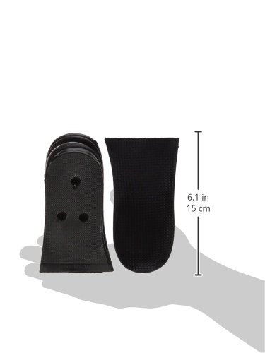 WSWS Men and Women Undercover Fox Height Lifting Inserts (Black)