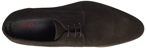 Hugo Dressapp_derb_sd 10197437 01, Derby Homme Marron (Dark Brown)