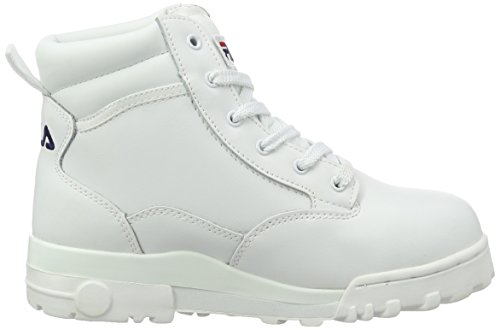Fila Damen Grunge L Mid Wmn Hohe sneakers Weiß (Bright White)