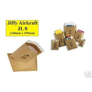 50 X JL0 Jiffy Airkraft Gold Mailing Bags