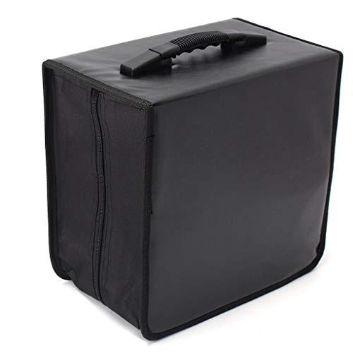 Yongse 520 Discs CD DVD DJ Wallet Halter Tasche Case Album Organizer Media Storage 520 Cd Wallet
