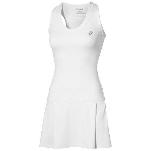 asics-oberbekleidung-club-dress-blanco-blanco-tallasmall