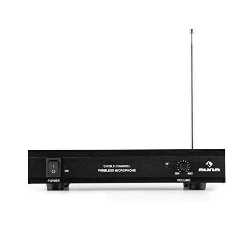VHF-1-HS 1-Kanal VHF-Funkmikrofon BLACK