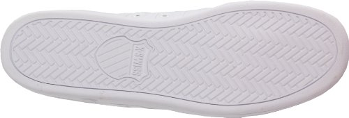 K-Swiss  The Classic, Basses homme Blanc - Blanc