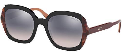 Ray-Ban Damen 0PR 16US Sonnenbrille, Schwarz (Black/Pink Havana), 54.0