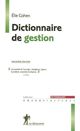 Dictionnaire de gestion
