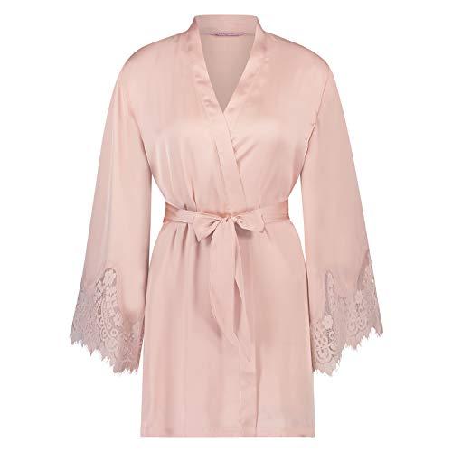 Hunkemöller Kimono Lace Satin Rosa