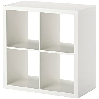 Bücherregal weiß ikea  IKEA KALLAX Regal in weiß; (77x77cm); Kompatibel mit EXPEDIT ...
