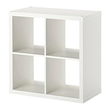 Wandregal würfel ikea  IKEA KALLAX Regal in weiß; (77x77cm); Kompatibel mit EXPEDIT ...