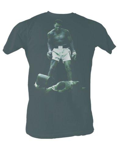 Muhammad Ali-Ali di Liston-Maglietta da uomo, colore: nero nero Medium