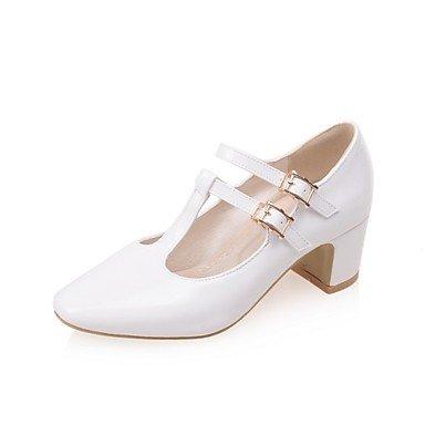 Zormey Frauen Schuhe Ferse/Square Toe/Cap-Toe Heels B¨¹ro & Amp Karriere / Kleid Schwarz/Rosa/Rot/Wei? US4-4.5 / EU34 / UK2-2.5 / CN33