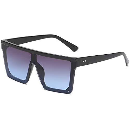 Herren Damen Trendige Vintage Sonnenbrille Unsichtbarer Rahmen Persönlichkeit Brillengestell Trendige Punk Wind Brillengestell Vintage Style Brille HOOPERT (C)