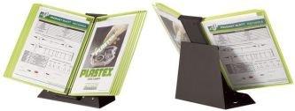 """Preisvergleich Produktbild Tarifold 434135 Tischsichttafelsystem Black Line """"flashy"""", A4 Träger grün"""
