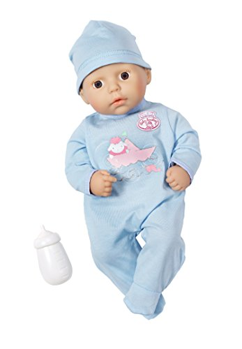 Zapf Creation 794456 - my first Baby Annabell, Bruder, blau