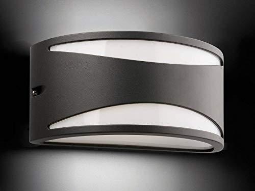 Faro Barcelona JLE5054165 Applique Extérieure Aluminium, Gris