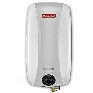 Racold Eterno DG SP 15-Litre Vertical Water Heater (Ivory and Silver)