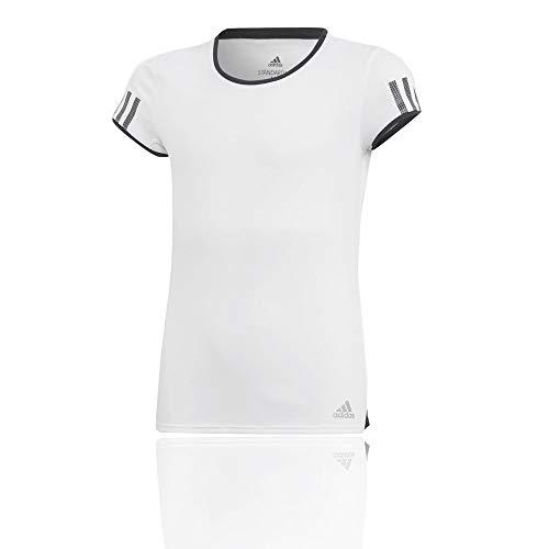 adidas Mädchen Club T-Shirt, White, 152