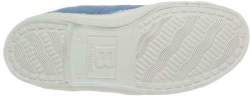 Bensimon Tennis Lacet, Baskets mode mixte enfant Bleu (Denim 563)