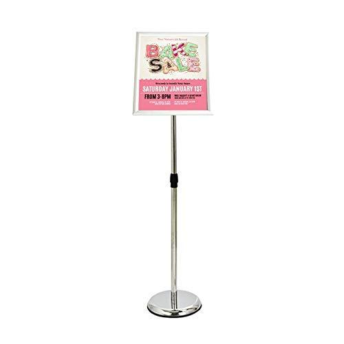 Einstellbarer Standfuß für Displayständer für Werbeschilder für Hochzeit/Show/Display/Anzeigengröße A3 / A4 (Splitter, A4)