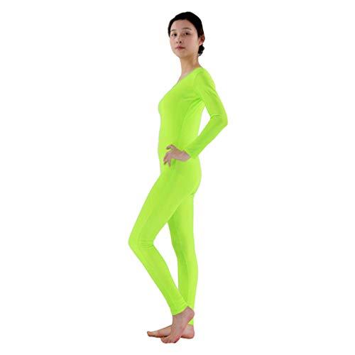 MagiDeal Damen Herren Spandex einteilig Dancewear Ganzanzug Bodysuit -