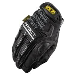 Mpact Glove with Poron XRD, Black/Grey, Size Medium