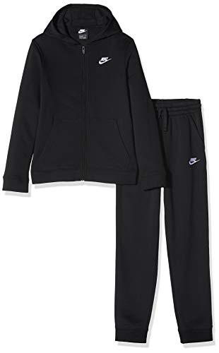 Nike Boys B NSW Core Bf TRK Suit Tracksuit, Black/Black/Black/White, XS