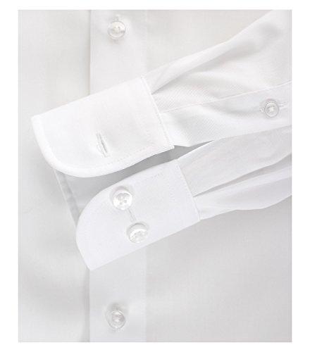 Casa Moda - Comfort Fit - Bügelfreies Herren Business Hemd mit Extra langem Arm (72cm) in verschiedenen Farben (006062) Weiß (0)