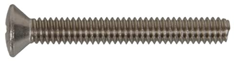 The Hillman Group 44132 10-24 x 4-Inch Oval Head Phillips Machine Screw, Stainless Steel, 15-Pack by The Hillman