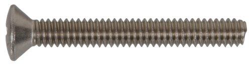 Die Hillman Gruppe 825936Edelstahl Oval Kopf Phillips Maschine Schraube, 10–32x 3/4-Zoll, 100Stück 10 32 Muttern