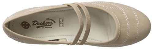 Dockers by Gerli 40be201-630340, Ballerine Donna Marrone (Hellbraun 340)
