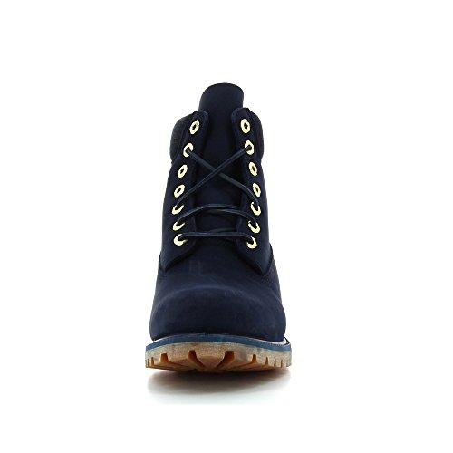 Timberland 6-Inch Premium Waterproof Herren Boot A13GQ black iris Marine
