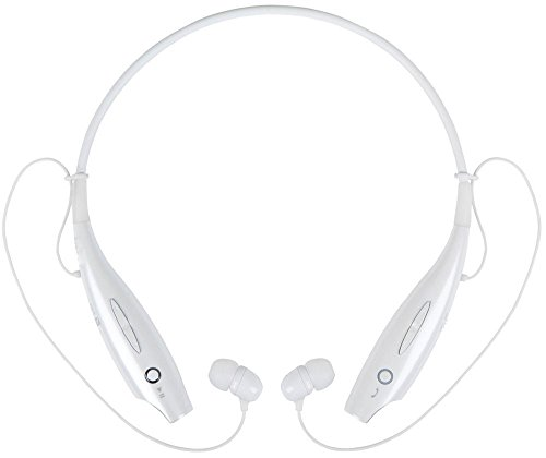Amore Intex Aqua M5 Compatible Bluetooth Stereo Headset HBS 730 Wireless Bluetooth Mobile Phone Headphone Earpod Sport Earphone with call functions (White)  available at amazon for Rs.499