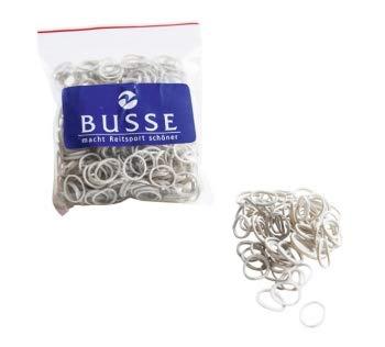 Busse Mähnengummis PROFESSIONAL, weiß, 50 gramm in Tüte - Bus-boxen