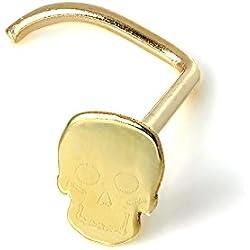 Para nariz en oro amarillo de 9 quilates