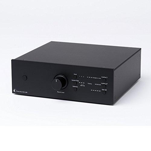 Pro-Ject Phono Box DS2 USB Phono-Vorverstärker - Schwarz (Phono-vorverstärker Usb)