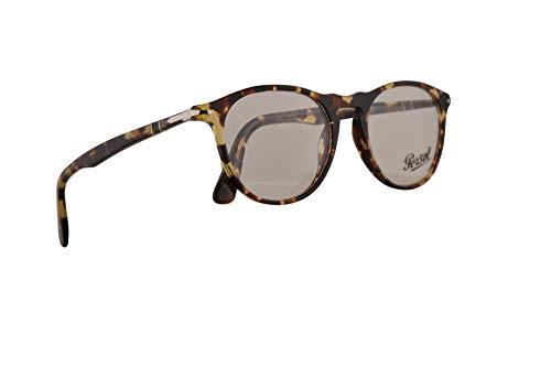 Persol PO3205V Brillen 49-19-145 Grau Braun Mit Demonstrationsgläsern 1057 PO 3205V PO 3205-V PO3205-V