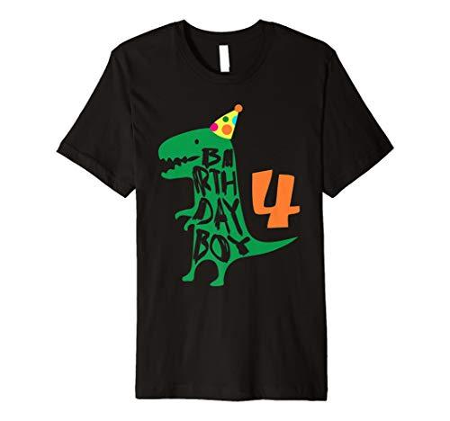 t shirt-4Jahre Alt Geburtstag Tee ()