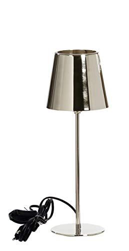 Kaheku Lampe Somerset Messing vernickelt, Durchmesser 14 cm, Höhe 40 cm 939001893