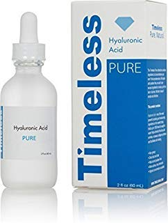 The Original Hyaluronic Acid Serum 100% Pure 2 oz. by Timeless Skin Care