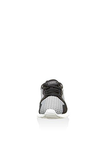 Le Coq Sportif Lcs R900 Geo Jacquard, Baskets Basses homme black / Charcoal