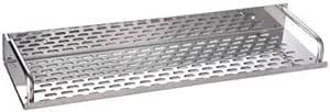 WHOLESALE INDIA Supreme Bazaar Bathroom Kitchen Stainless Steel Wall Mount Corner Shelf (16-inch, Silver)