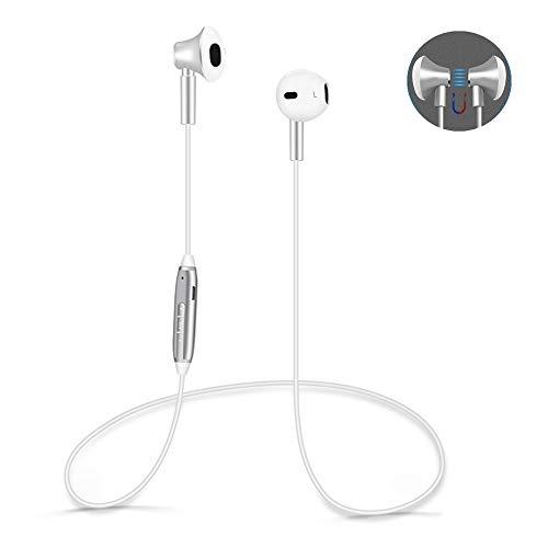 Ikakabek Cuffie Bluetooth Magnetiche 4.1 Auricolari Wireless Senza Fili  Stereo Sport con Microfono per iPhone X 8  7 6 Samsung Galaxy Note LG Huawei  e ... 1efeeb7f7ef9