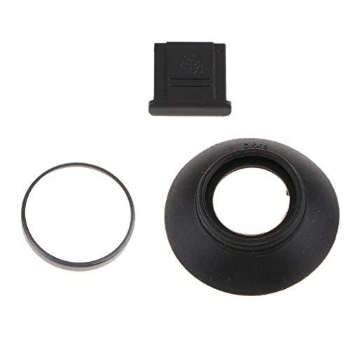 SGerste Gummi-Augenmuschel mit Blitzschuh-Abdeckung für Nikon D850 / D500, bietet Polsterung um Das Okular der Kamera