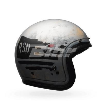 Bell caschi Cruiser 2017Custom 500se Adult casco, Rsd 74nero/argento, taglia 2x S