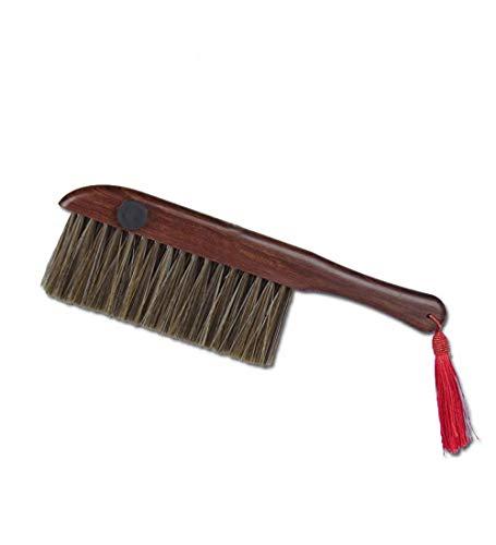 YUDEYU Pasado De Moda Cepillo De Cama Casa Madera Maciza Limpiar Brecha Escritorio Eliminación del Polvo Herramienta (Tamaño : 31cm)