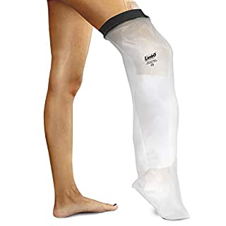LimbO Waterproof Protectors Cast and Dressing Cover - Adult Half Leg (M80: 41-54 cm Above Knee Circ. (5'5