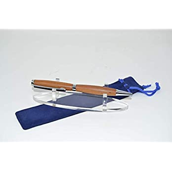 Holz Kugelschreiber Zwetschke Drehkugelschreiber aus Holz twist Pen Geschenk Geschenkidee Unikat handmade