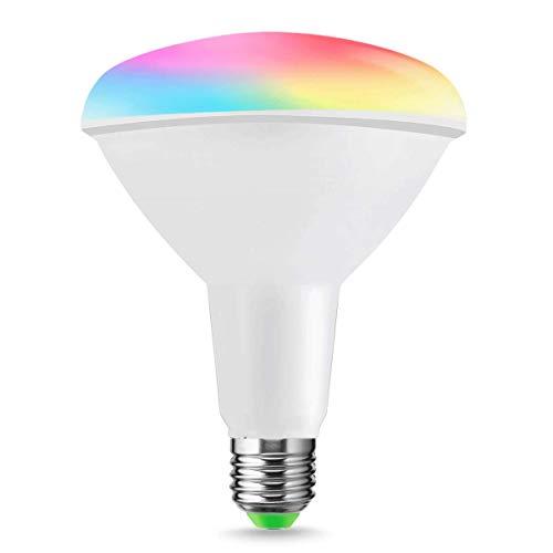 LOHAS R95 E27 Smart Lampadine WiFi 14W, RGB + Giorno Bianco 6000k, Remote Operated by LOHAS SMART APP, Dimmerabile, Voice Controlled di Alexa e Google Home, confezione da 1